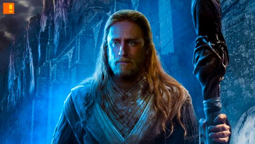 Ben Foster's conflicted mage Medivh. One of the better performances featured in the film.