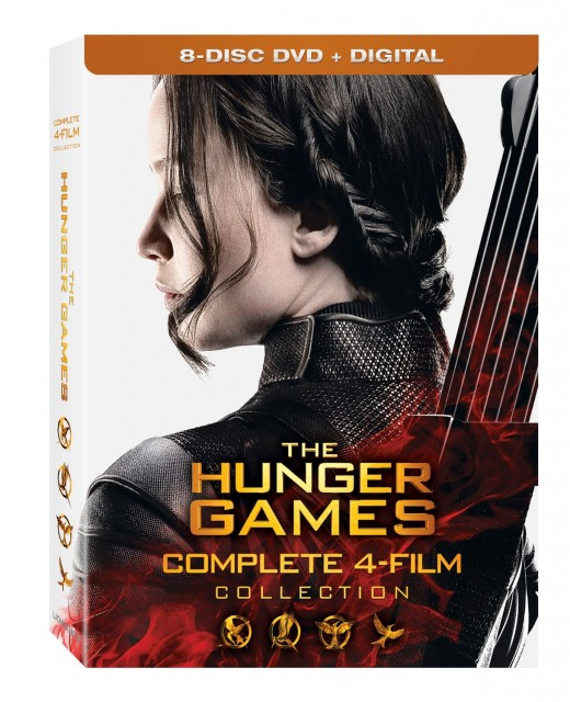 The Hunger Games Complete 4 Film Collection