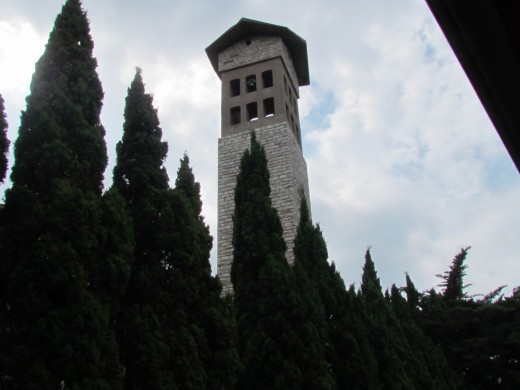 A tower we passed during our tour in Livorno.
