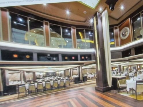 The interior of the Epic, Norwegian Cruise line.