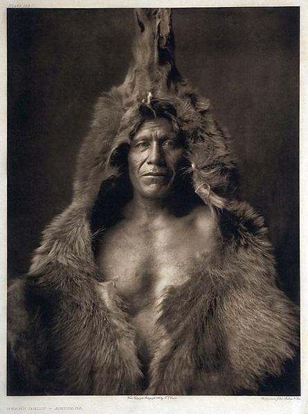 Bear's Belly, Arikara man.