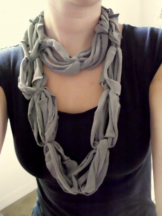 61 awesome craft ideas using old t shirts hubpages for Craft ideas for old t shirts