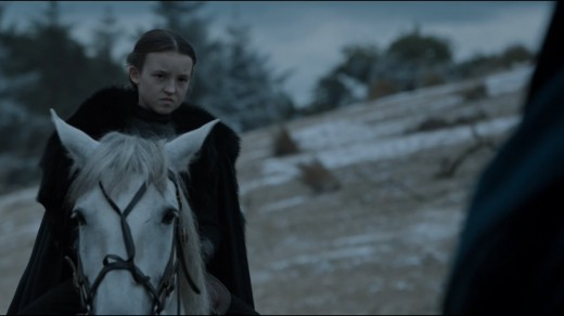 One person does glare better than Sansa, though.