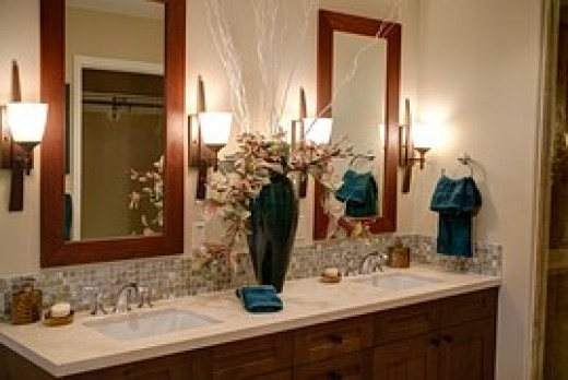 Millions are spent in the U.S.A. on fancy bathroom fixtures