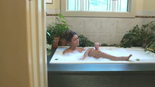 Women also use their bathrooms to take long bubble baths and shave their legs without being bothered