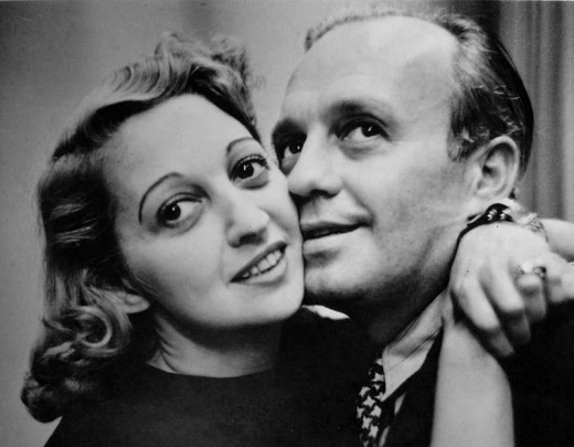 Mary Livingstone and Jack Benny in 1939.