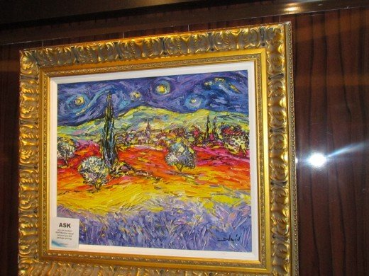 We attended an art auction held at Le Bistro Restaurant. The artwork was absolutely beautiful.