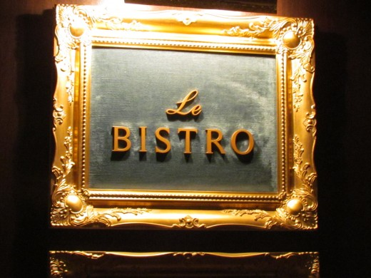 Le Bistro Restaurant's food is outstanding It is the one offered in packages for Honeymoons, Anniversaries and special days for couples.