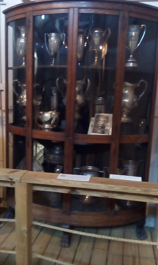 Trophy Case, Ohio County Historical Museum