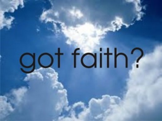 Put Your Faith on Higher Things!!