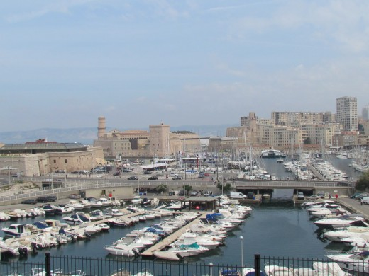 A spectacular view of Marseille, France