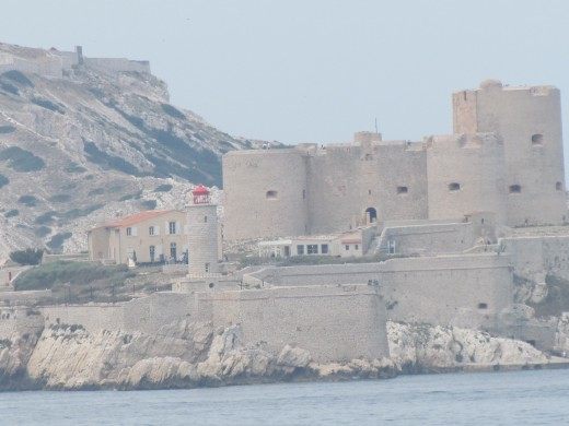"""A view of Chateau d If, where the movie """"Monte Cristo"""" was filmed."""