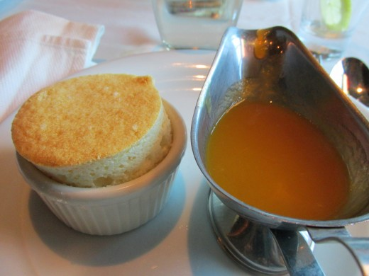 A delectable dessert that we experienced during our cruise. Yes, we ate quite well without additional payments.