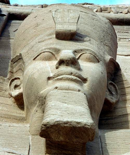 Ramses II in Abu Simbel By Hajor CC BY-SA 3.0