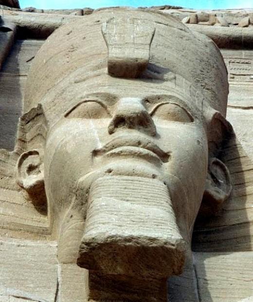 Ramses II in Abu Simbel By Hajor CC BY-SA 3.0