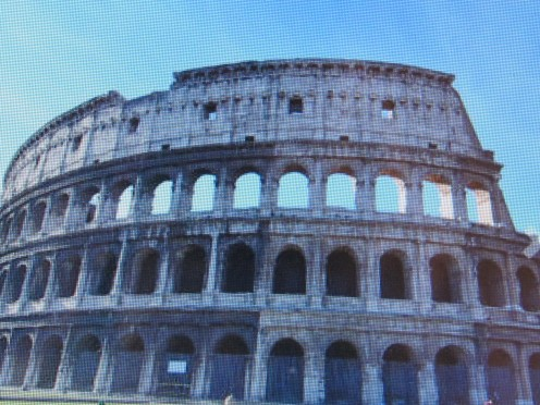Rome and The Colosseum. Photo is from the website.