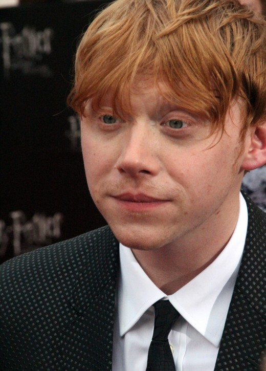 Image - Rupert Grint - the former Harry Potter star - now doing voiceover work for radio and TV