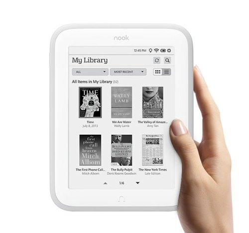 What kind of e-book reader does your sweetheart want? Would she like the Nook Glowlight or the Kindle or some other brand?