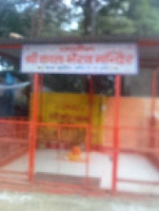 City Bus Stop converted in to Kaal Bhairav Temple, Sch. 78, Vijay Nagar, Indore