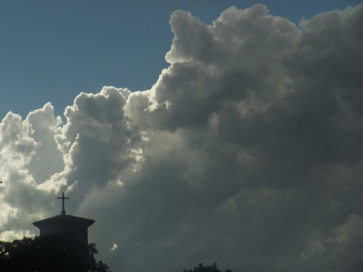When dark clouds loom on the horizon...