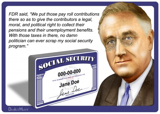 What FDR said about social security