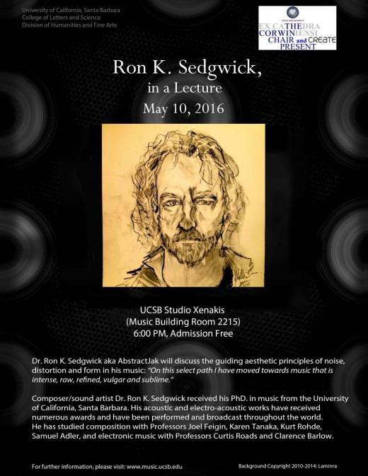 Dr. Ron Sedgwick recently lectured at the University of California at Santa Barbara.