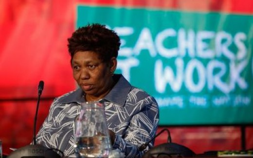 Minister Of Basic Miseducation Of African Children In South Africa.. The Ogre herself.. Angie Motshekga..