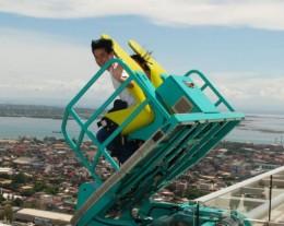 The Edge coaster in Cebu, Philippines