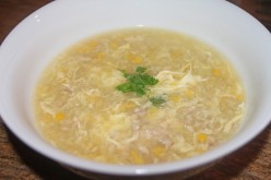 Light Turkey and Egg Soup