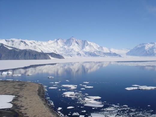 Mt Herschel, Antarctica,