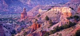 Palo Duro Canyon is a taste of the desert Southwest, right in the heart of the panhandle prairie