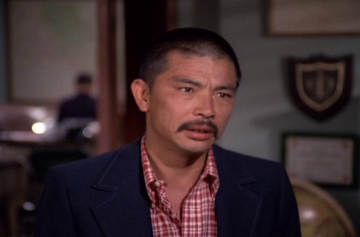 "as Kazuo Tahashi in the episode ""Legacy of Terror"" (season 8)"