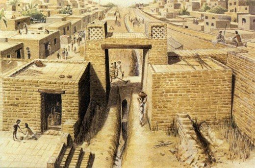 Mohenjo Daro Site located in Sindh