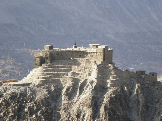 Baltit Fort in Gilgit Baltistan