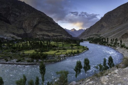 Ghizer river Pakistan