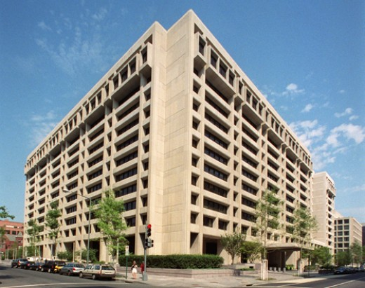The IMF's headquarters in Washington D.C.
