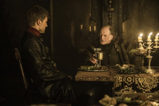 """We're just alike in our chiseled features and rugged good looks. And our kingslaying."" -Walder Frey"