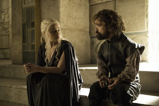 """Let's get drunk and make out."" -Tyrion"