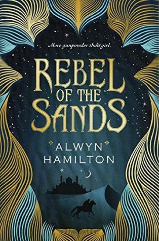 Rebel of the Sands by Alwyn Hamilton cover