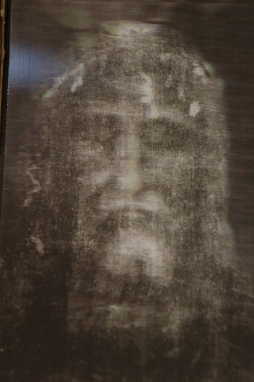 The imprint of resurrected life.