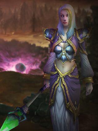 Jaina in world of warcraft