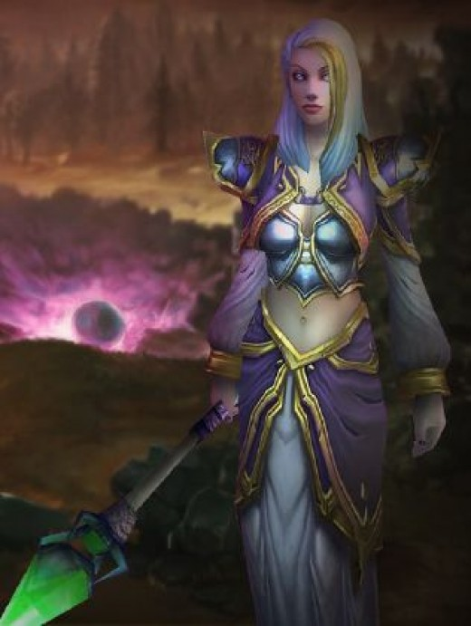 Jaina in world of warcraft