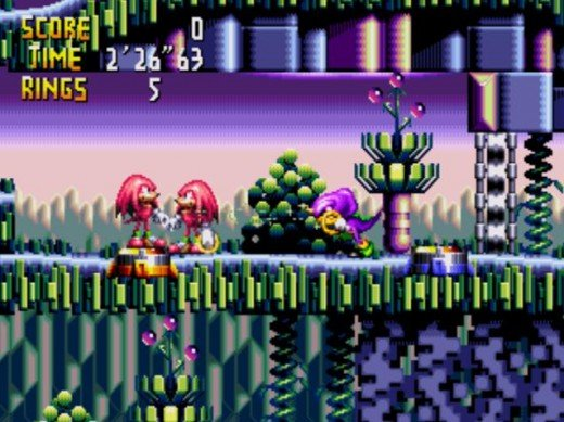 Knuckles Chaotix, (Sega 32X), is one of the rarest video games most people never had the chance to play. If you search correctly, you can find just about anything.