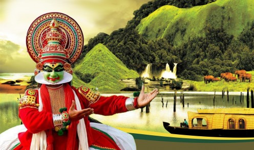 Kerala tourism picture. A picture from megakerala.com