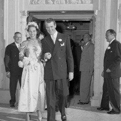 James Stewart and Gloria McLean