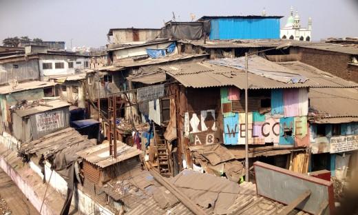 Dharavi, India.