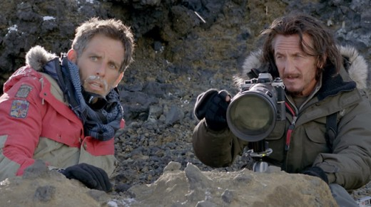 The Secret Life of Walter Mitty - Walter with Sean waiting for a snow leopard