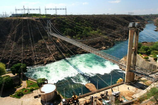 Paulo Afonso Hydroelectric Powerplant in Bahia, Brazil.