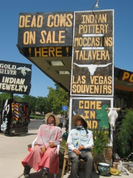 Cute and kitschy shops in Boulder City! And many are air conditioned!