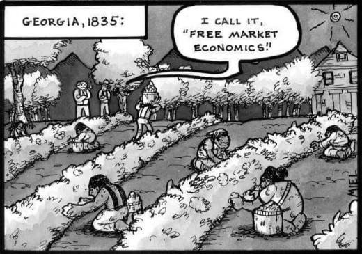 Freemarket economics old style